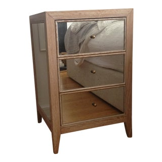 Made Goods Mirrored Mia Nightstand