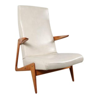 Lounge Chair Attributed to Alfred Hendrickx for Belform, Belgium, 1950s