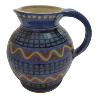 Mid-Century Italian Pottery Pitcher