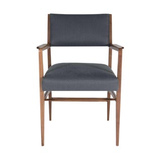 Maze Walnut Arm Dining Chair
