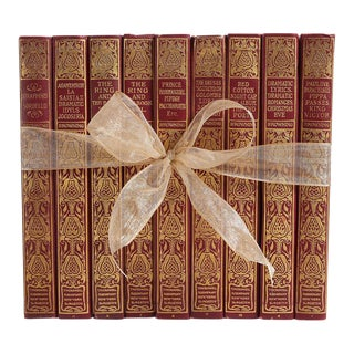 Antique Book Gift Set: Robert Browning, S/9