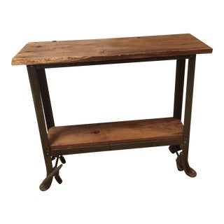 Barn Wood Industrial Table