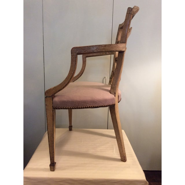 Fine Hepplewhite Open Chair-Late 18th Century - Image 3 of 8
