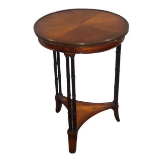 Maitland Smith Round Side Table