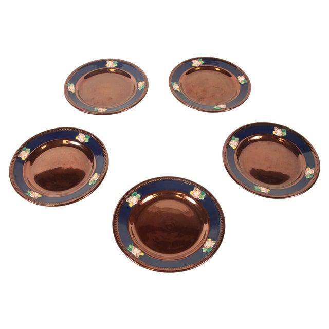 Sarreguemines of France Dessert Plates- Set of 5 - Image 1 of 2