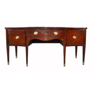 18th C. Antique British/American Hepplewhite Style Mahogany Sideboard