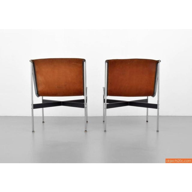 Pair Of William Katavolos, Ross Littell & Douglas Kelley, New York Lounge Chairs - Image 6 of 7