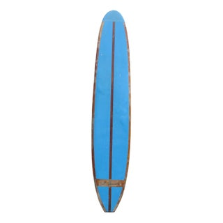 60s 10' Duke Kahanamoku Blue Surfboard