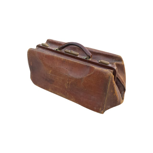 Brown Leather Doctor's Bag - Image 1 of 6