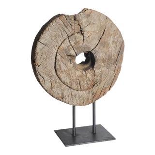 Mercana Incana Salvaged Wood Tractor Wheel