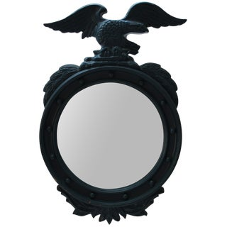 Painted Blue Eagle Federal Mirror