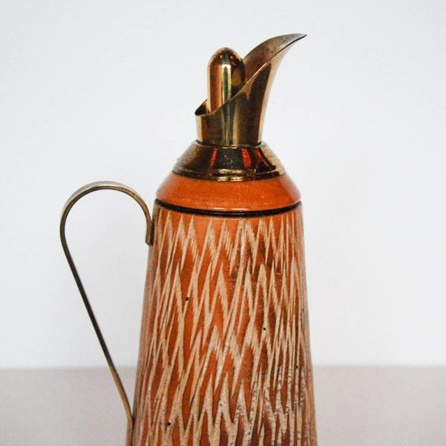 Aldo Tura Wood & Brass Decanters - A Pair - Image 10 of 11