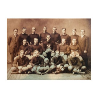 Reproduction Vintage Sports Photograph Harvard