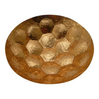 Tom Dixon Mid-Century Inspired Copper Hex Bowl
