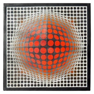 """Vega Series"" by Victor Vasarely"