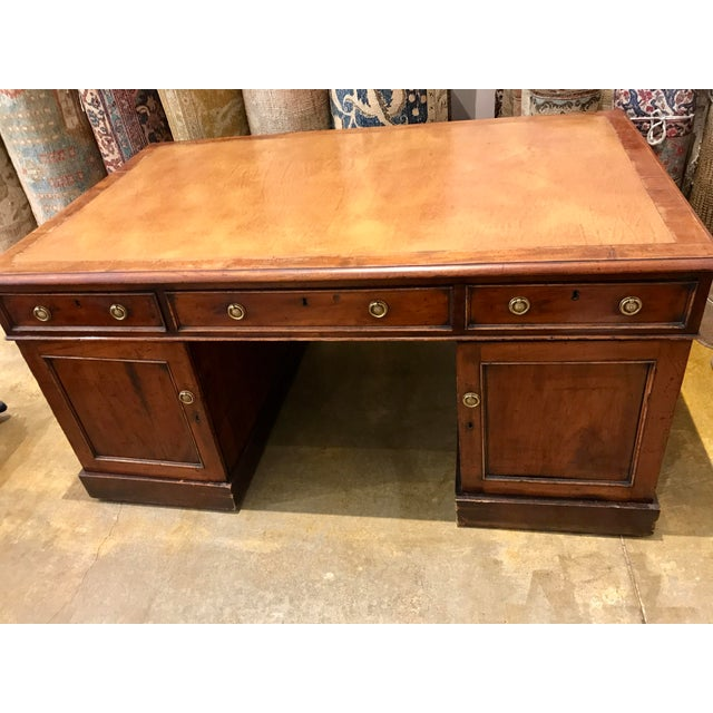 Gorgeous Antique Authentic Late 18th Century English Partners Desk - Image 2 of 5