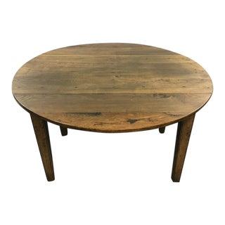 Wood Drop Leaf Dinner Table