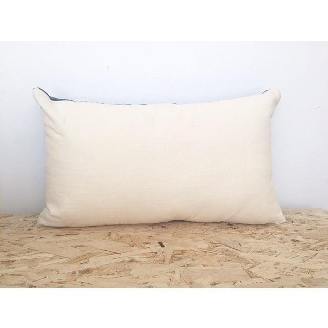 Indigo Cloth Lumbar Pillow - Image 5 of 5
