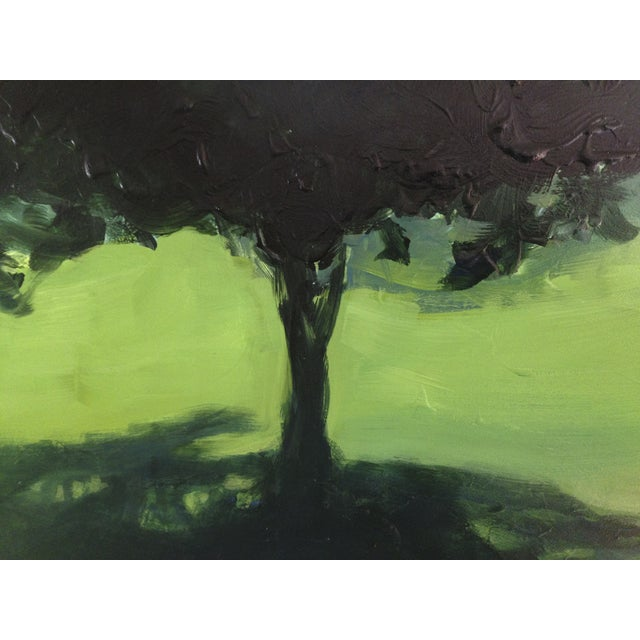 Original Landscape Painting of a Tree in Summer - Image 3 of 6