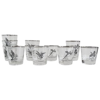 Vintage Game Fowl Old Fashions Glassware