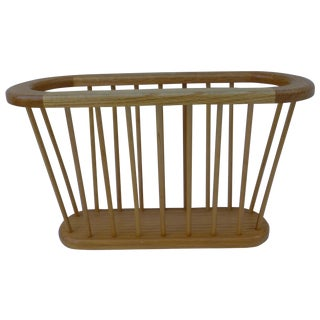 Arthur Umanoff Style Spindled Magazine Rack