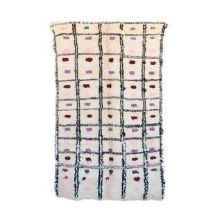 "Vintage Azilal Moroccan Rug, 4'11"" x 711"" feet"
