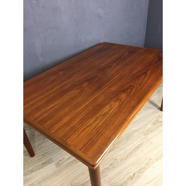 Ansager Mobler Danish Modern Teak Dining Table Chairish