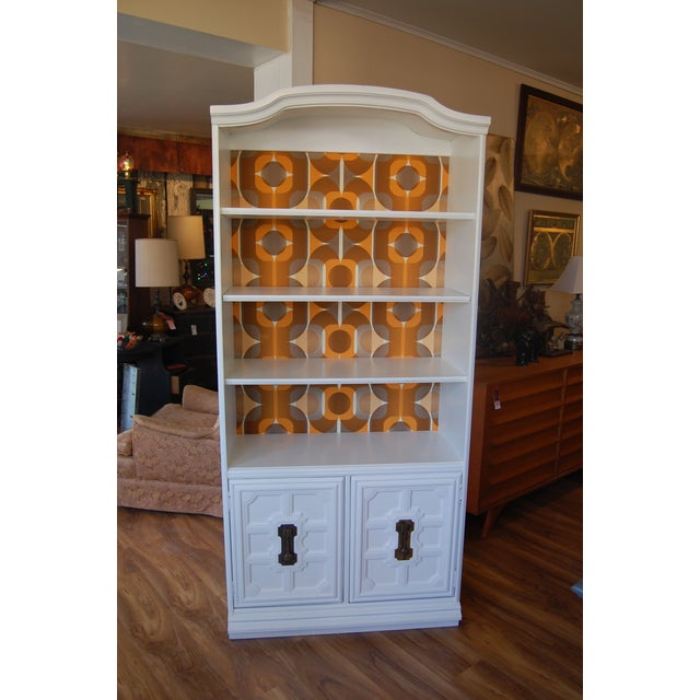 Painted Mid Century Shelving Unit - Image 2 of 8