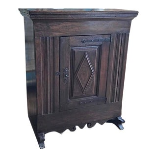 Antique Spanish End Table, circa 1815