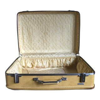 Samsonite Pale Yellow Suitcase