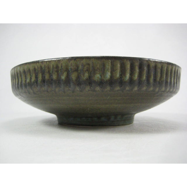 Vintage 70s Israel Lapid Art Pottery Bowl - Image 4 of 8