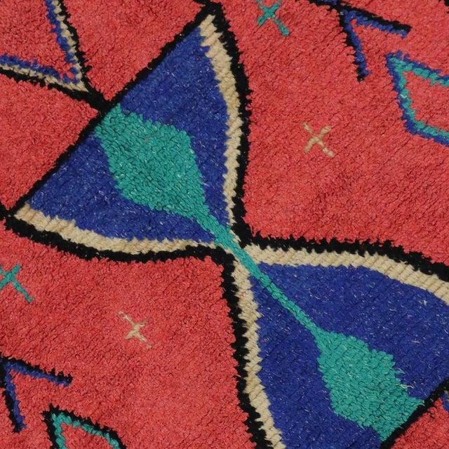 Vintage Berber Moroccan Rug - 3′9″ × 6′ - Image 4 of 6