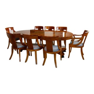 Baker Palladian Neoclassical Dining Set