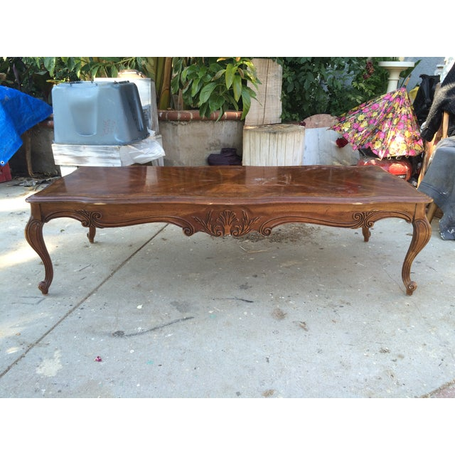 Antique Coffee Tables Ireland: Gordon's Antique Solid Wood Coffee Table