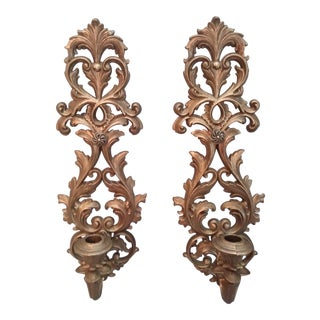 Burwood Baroque Wall Sconces - A Pair