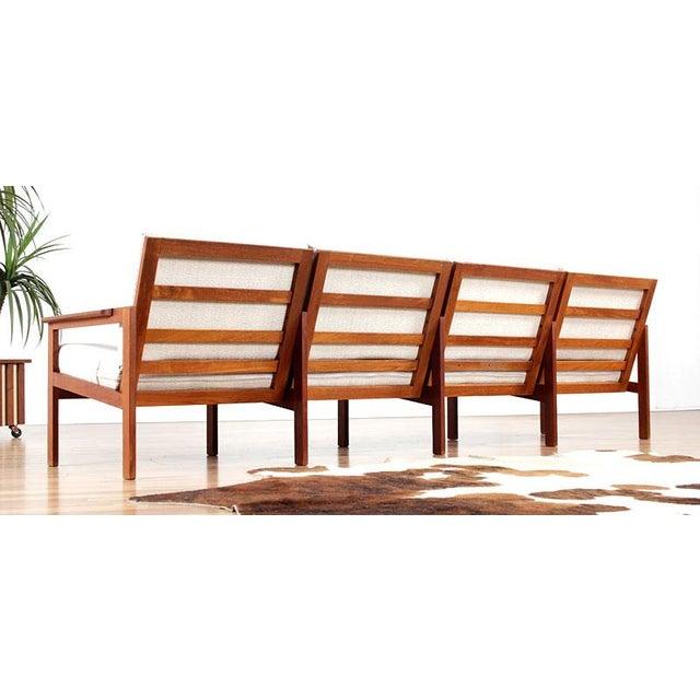 Restored Vintage Illum Wikkelso Adjustable Sofa - Image 3 of 6