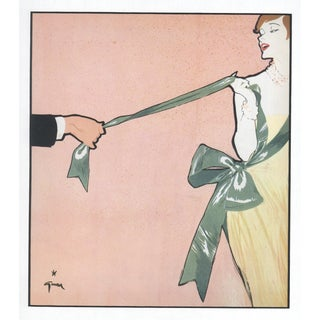Mid-Century Fashion Print by Gruau