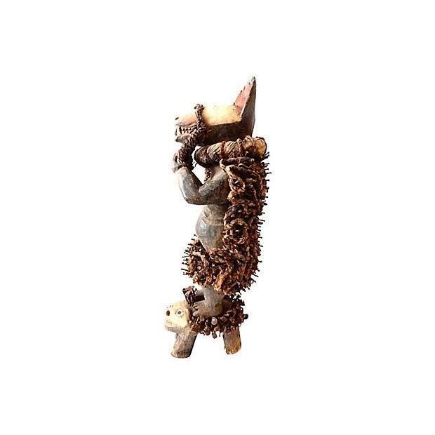 Nkisi Hyena Sculpture - Image 3 of 8