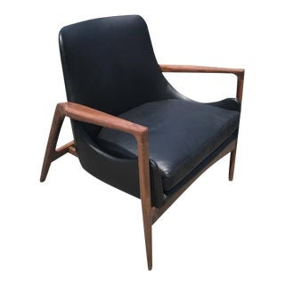Mid-Century Custom Larsen Style Lounge Chair