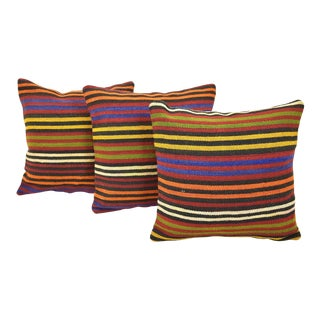 Turkish Vintage Handmade Pillow Covers - Set of 3