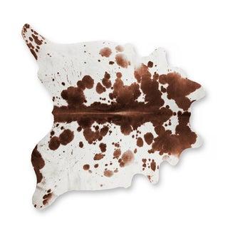 Salt & Pepper Brown & White Cowhide Rug - 6' X 7'