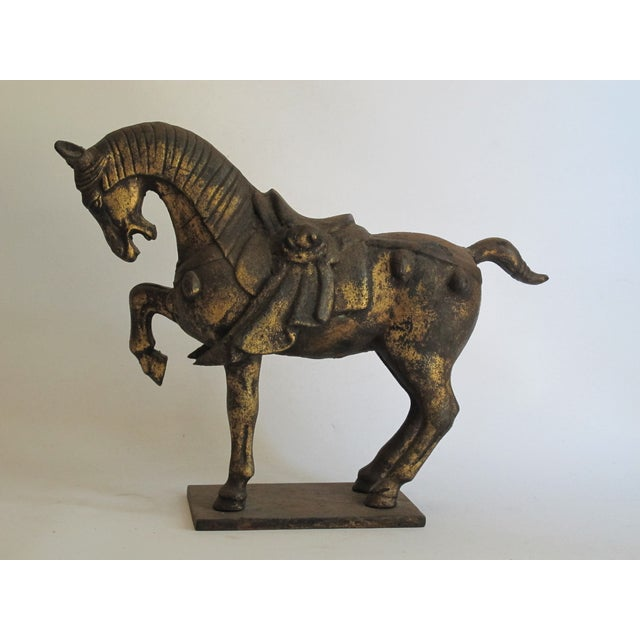 Chinese Ceremonial Metal Horse - Image 5 of 6