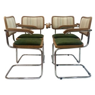 Marcel Breuer Cesca Chairs by Knoll - Set of 4