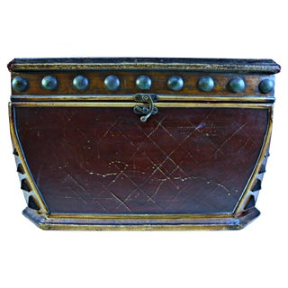 Decorative Wooden Coffer