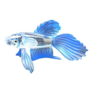 Swarovski Crystal Fighting Fish