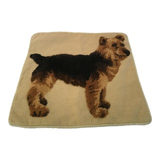 Plush Cairn Terrier Dog Pillow