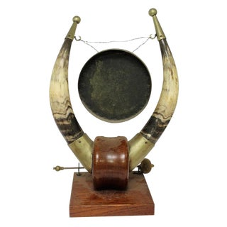 Antique Burmese Metal Gong