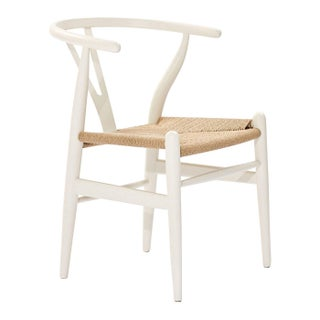 Country Wooden White Dining Chair