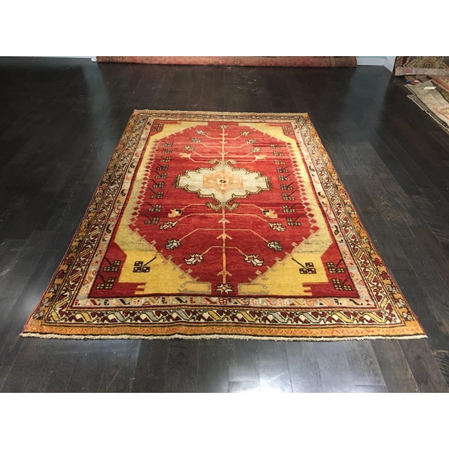 "Image of Bellwether Rugs Vintage Turkish Oushak Rug - 5'9""x8'9"""