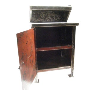 Industrial Cabinet with Top Shelf